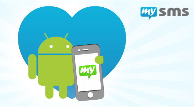 Android + Apple = mysms friends