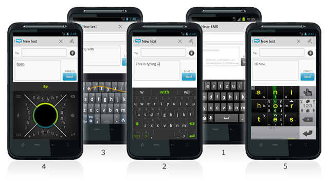Our Top 5 Android Keyboards