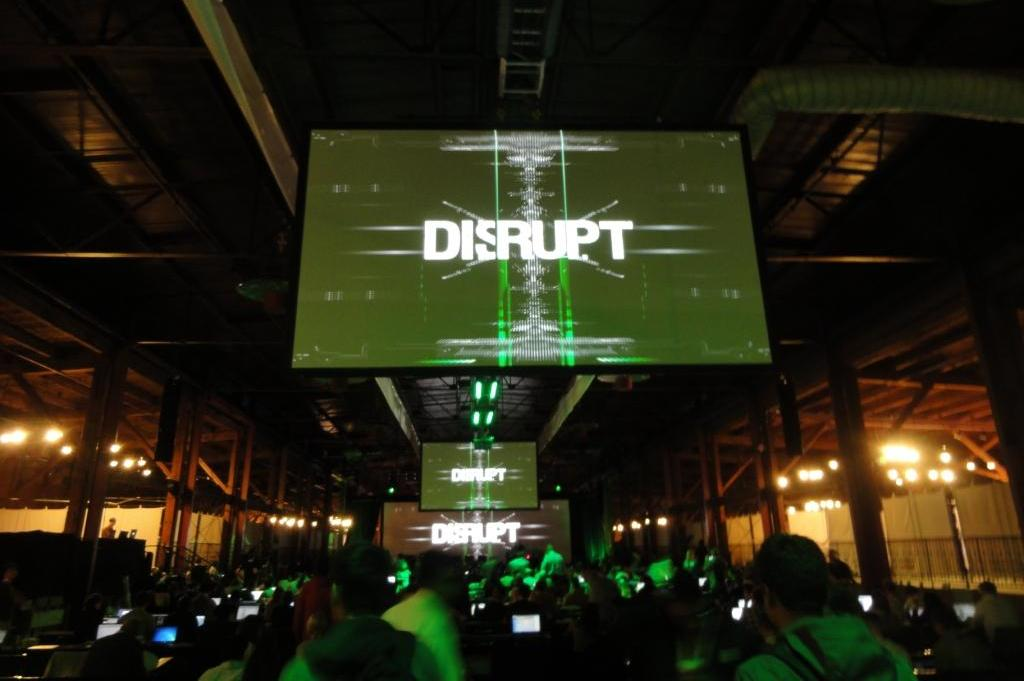 Techcrunch Disrupt - Main Conference Hall