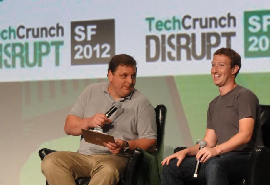 The 30 min talk pushed Facebook's share prize back to the right direction