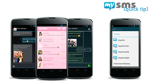 Use the new mysms themes!