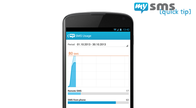 Have a look at the mysms settings