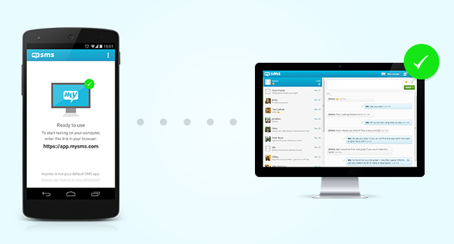 mysms and Android 4.4