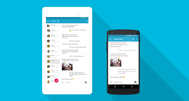 Material Design Has Come To Mysms Mysms Blog